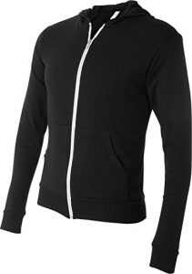 Canvas Bella Unisex Triblend Full Zip Hoodie