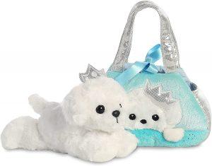 Aurora Fancy Pal Peek-a-Boo Princess Puppy Soft Toy