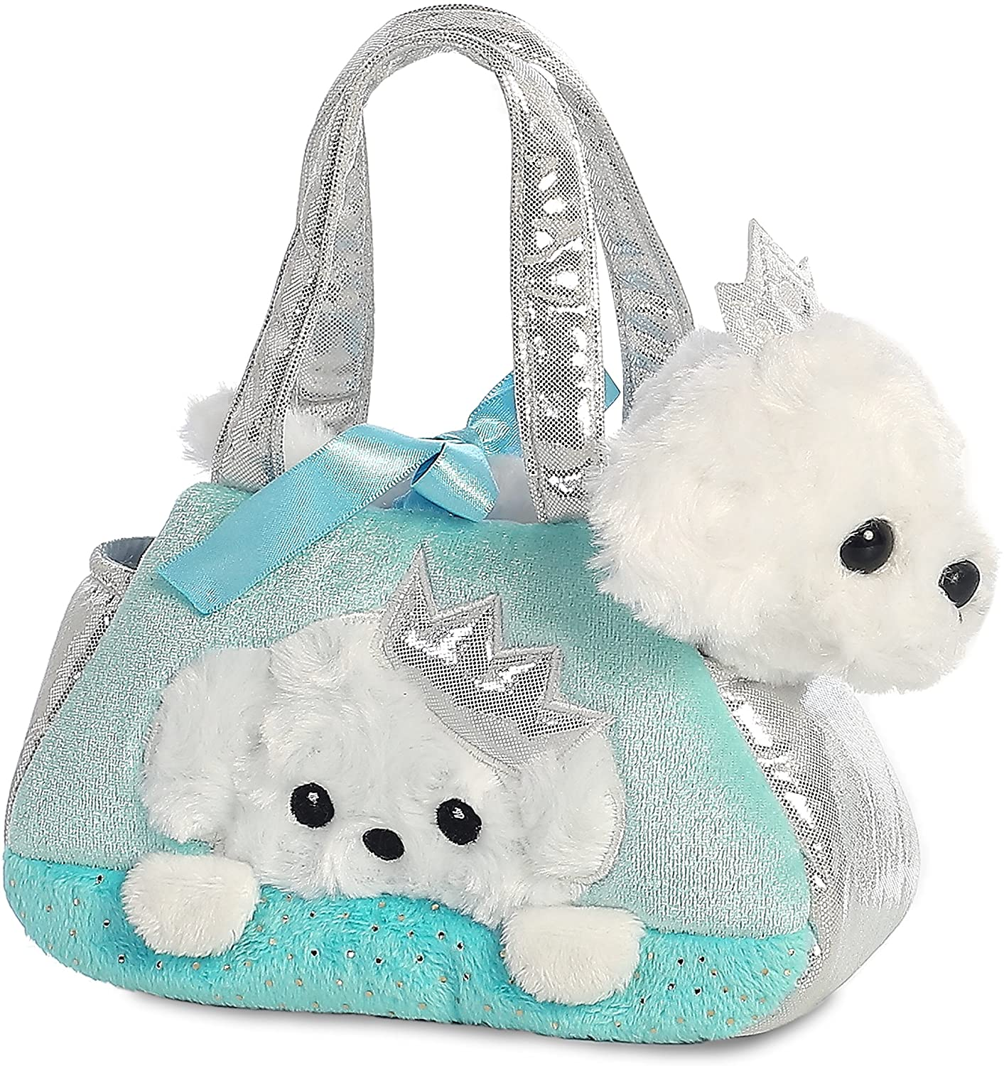 Aurora Fancy Pal Peek-a-Boo Princess Puppy Soft Toy