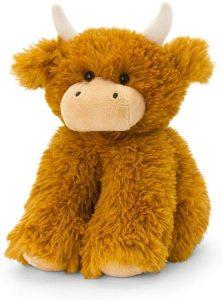 Cuddly Shaggy Highland Cow Soft Toy