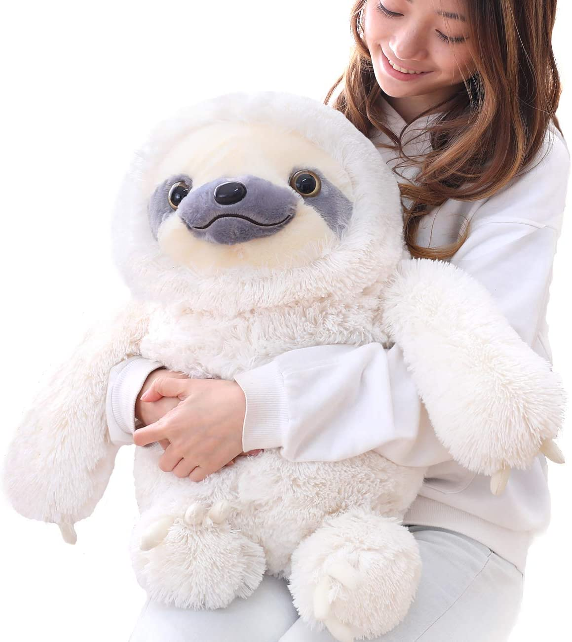 Cuddly Sloth Soft Plush Toy Large Stuffed Animal