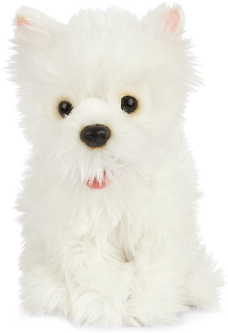 Cuddly West Highland Terrier Dog Toy
