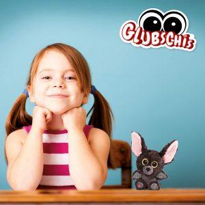 GLUBSCHIS Cuddly Soft Toy Bat Baako