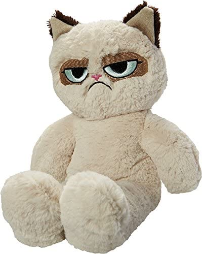 Grumpy Cat Floppy Soft Dog Toy