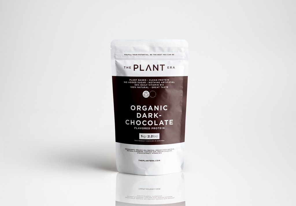 Organic Dark Chocolate Protein Powder