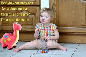 Pink Plush Dinosaur Stuffed Animal
