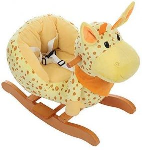Plush Rocking Horse Wooden Soft Toy
