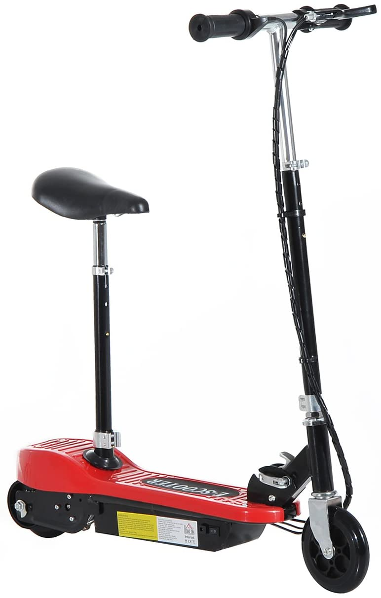 Red Electric E Scooter for kids