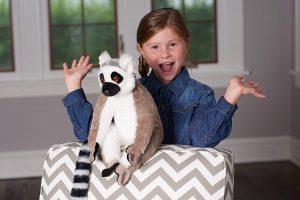 Ring Tailed Lemur Plush Soft Toy