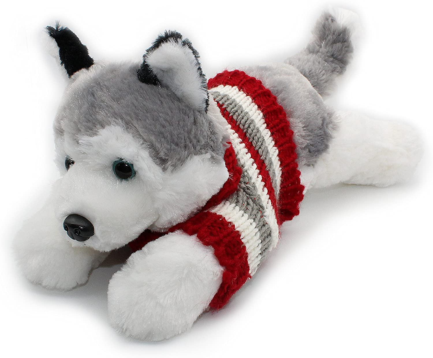 Siberian Husky Plush Puppy Soft Toy
