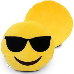 Smile Emoticon Cushion Plush Soft Gift Toy