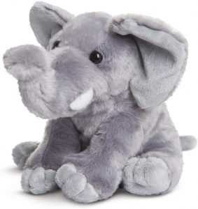 Soft Cuddly Elephant Toy for Adults and Children