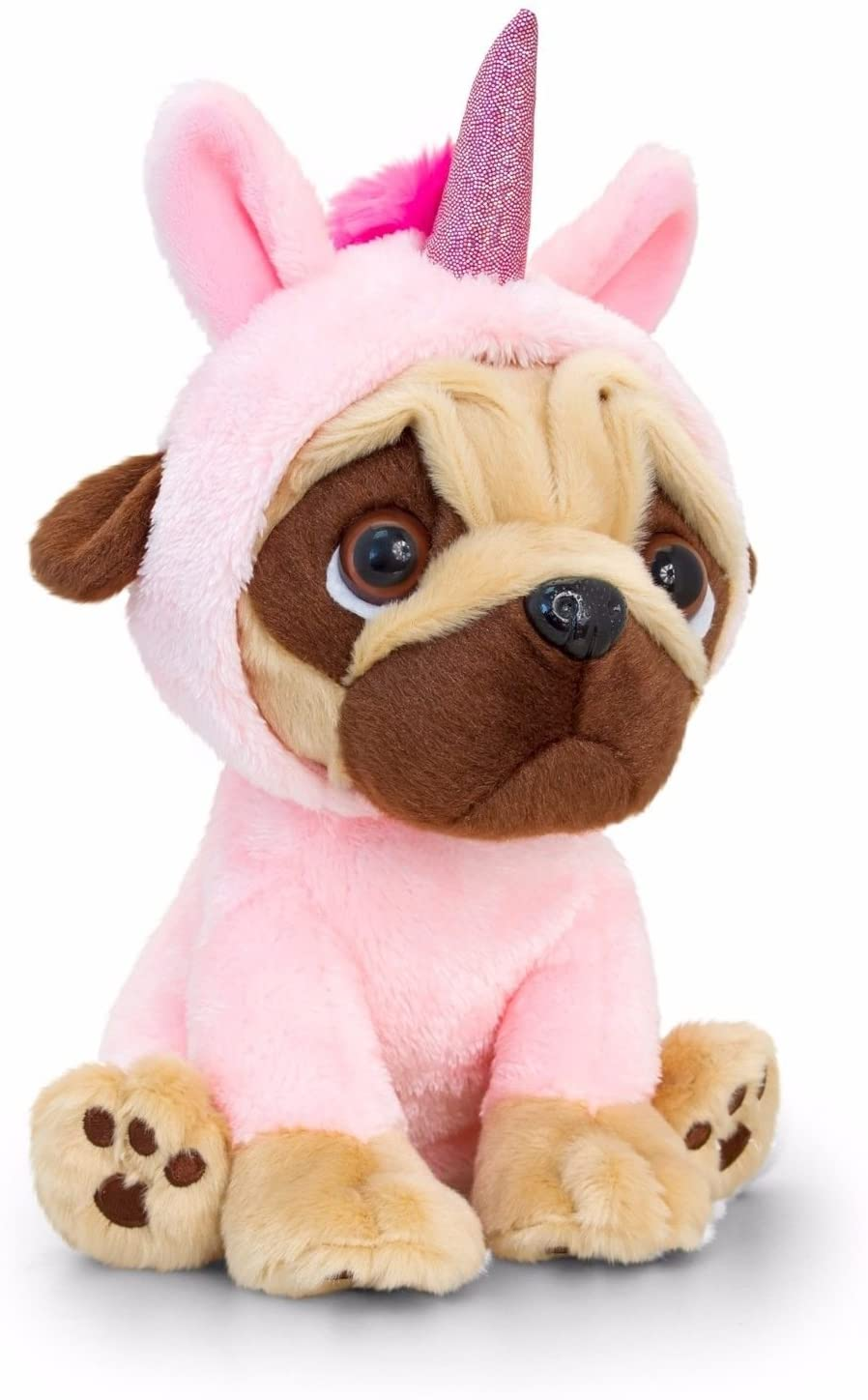 Unicorn Pug Dog Soft Toy