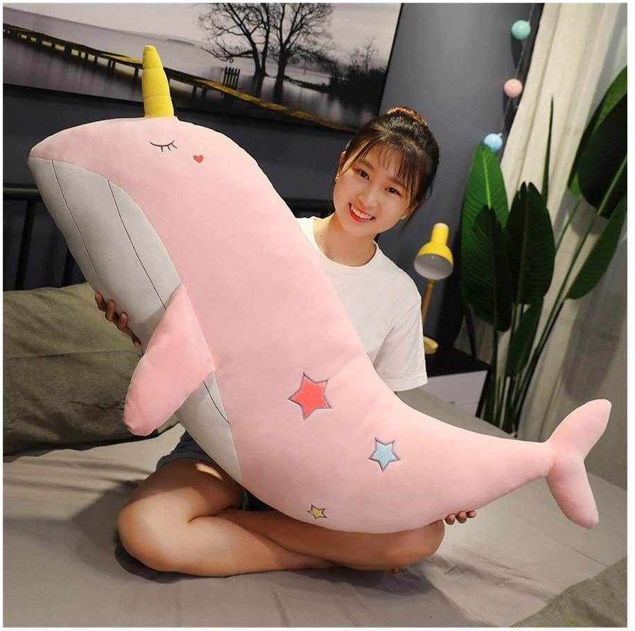 Super Lovely Unicorn Whale Sea Animal Soft Toy