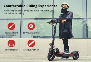 ACGAM Electric Offroad Scooter with Seats
