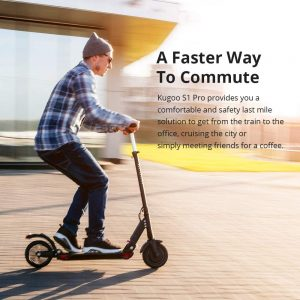 Kugoo S1 Pro Electric Scooter for Adult