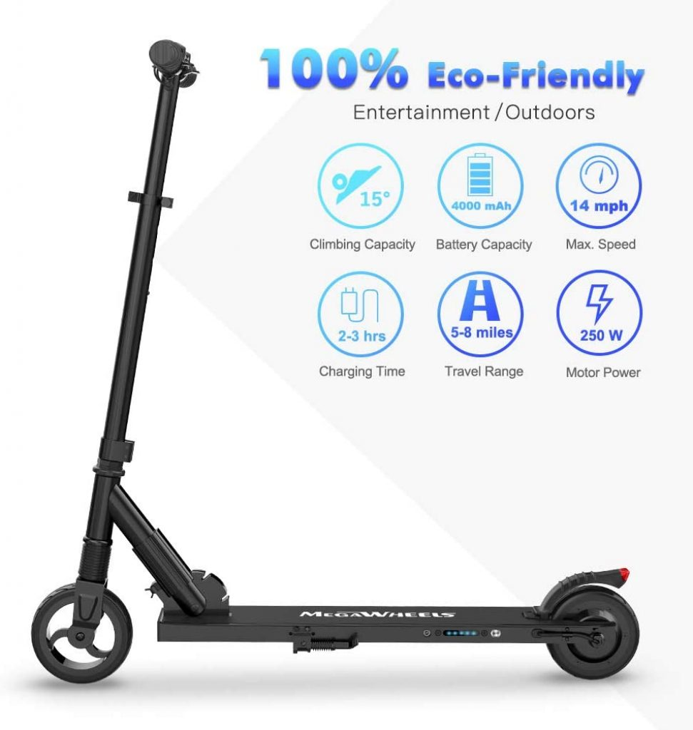 M MEGAWHEELS Electric Scooter For Adults