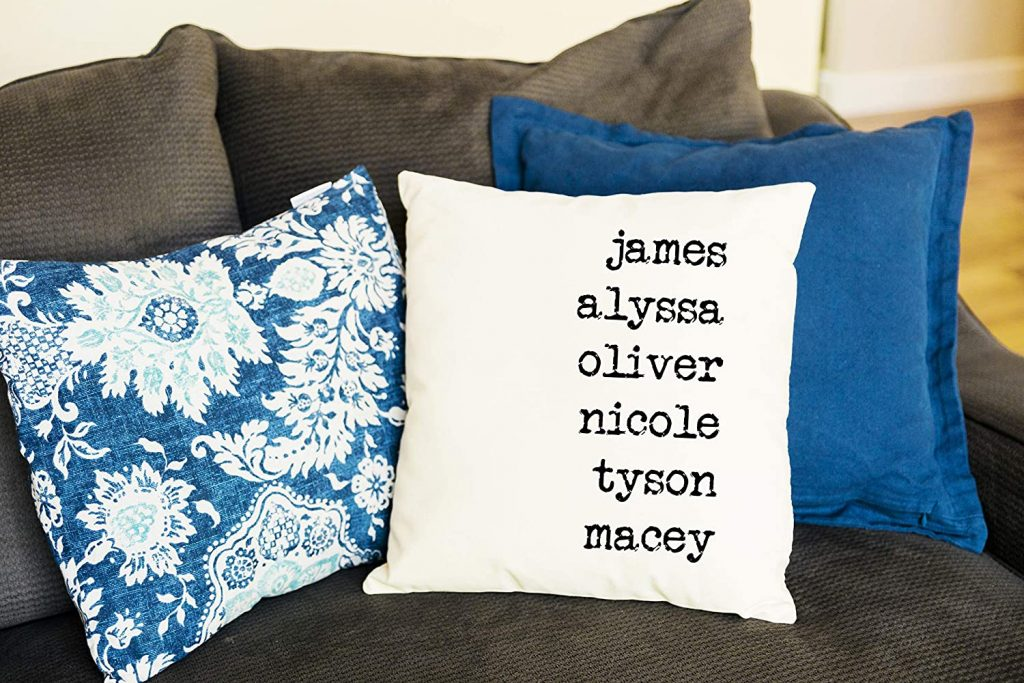 Qualtry - Personalized Throw Pillowcase