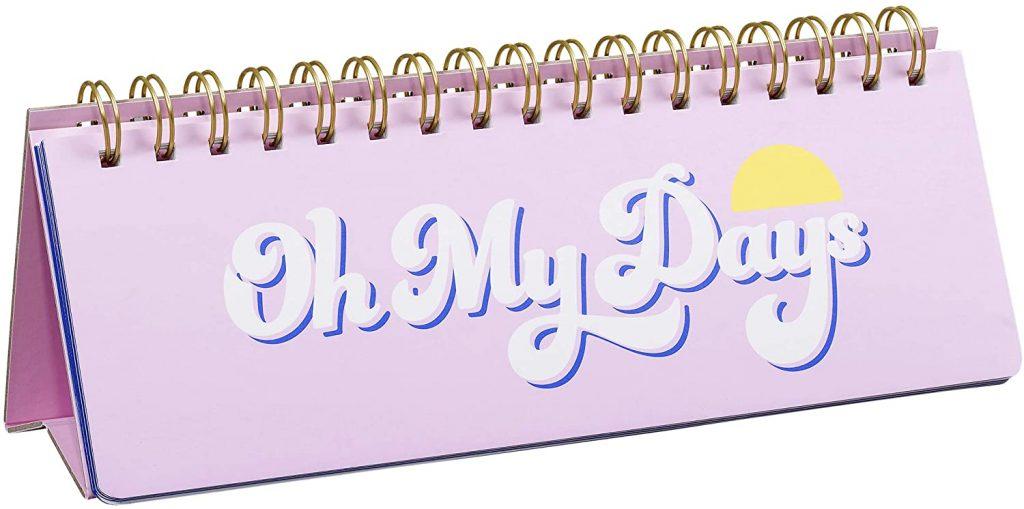 Yes Studio Women's Yes Studio Weekly Desk Planner Best Gift Ideas in UK