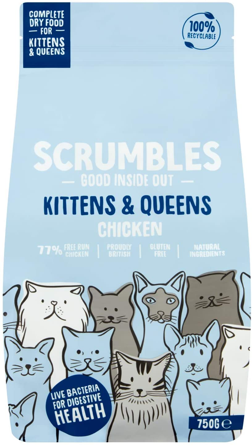 Scrumbles Complete Dry Kitten Food