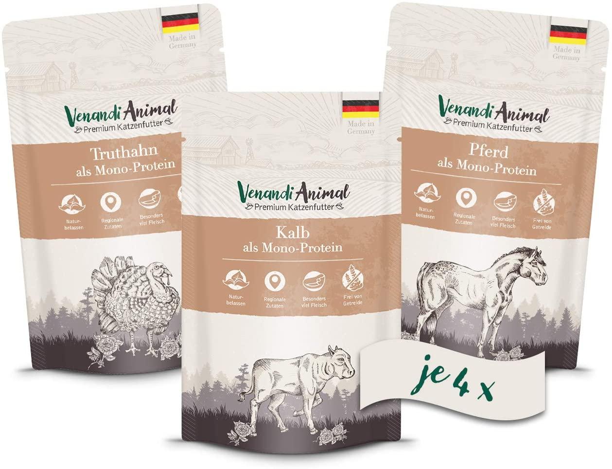 Venandi Animal Natural Wet Cat Food