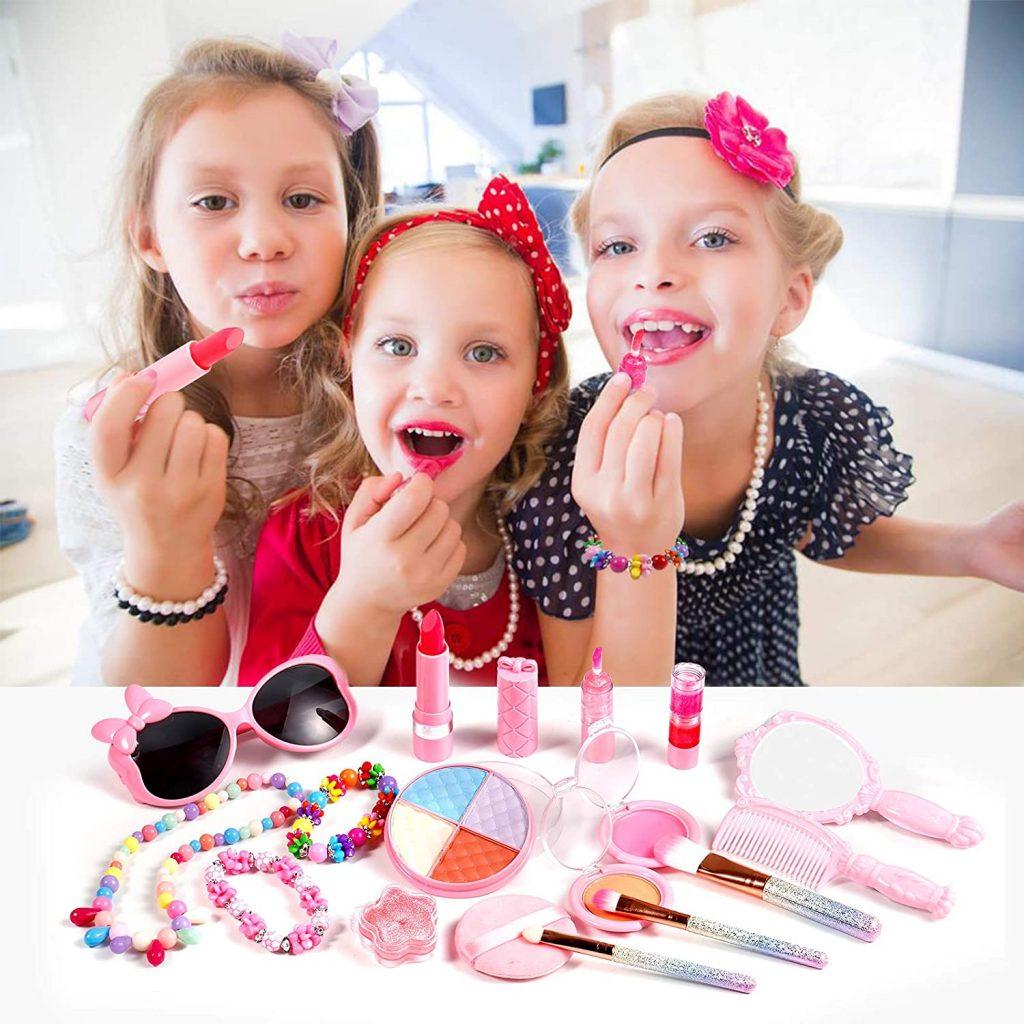 Auney Washable Make Up Kit for Girls