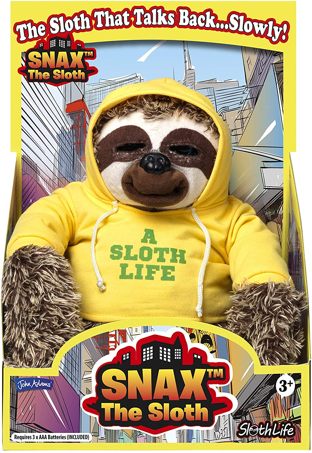 John Adams Snax The Sloth