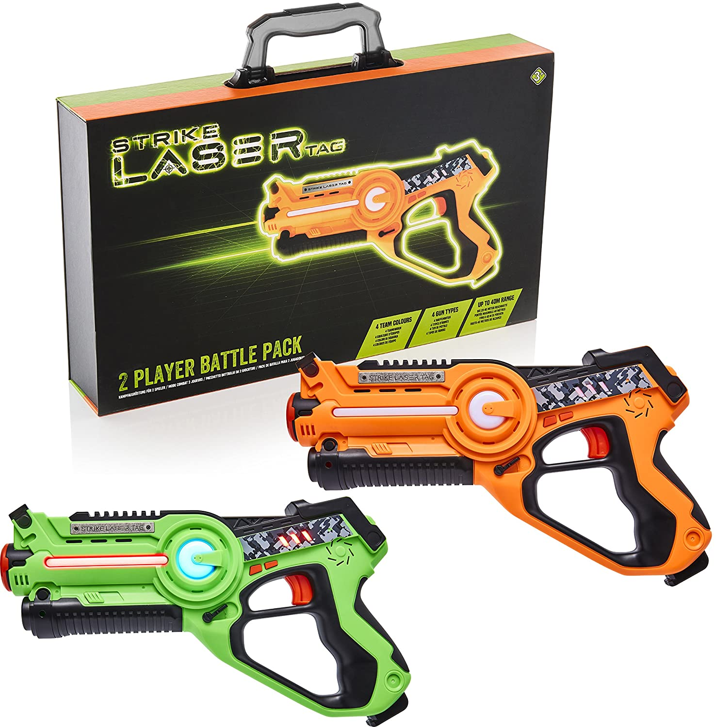 Kids Infrared Gun Blaster Set