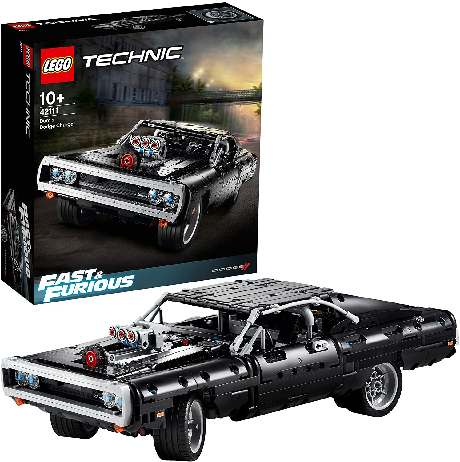 LEGO Technic Fast and Furious Doms Dodge Charger Racing Car