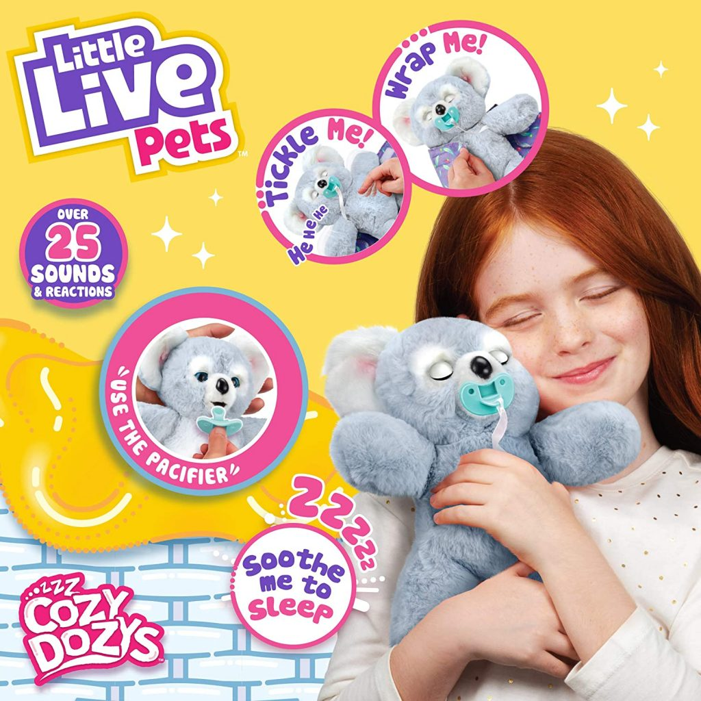 Little Live Pets Cozy DOZYS Koala