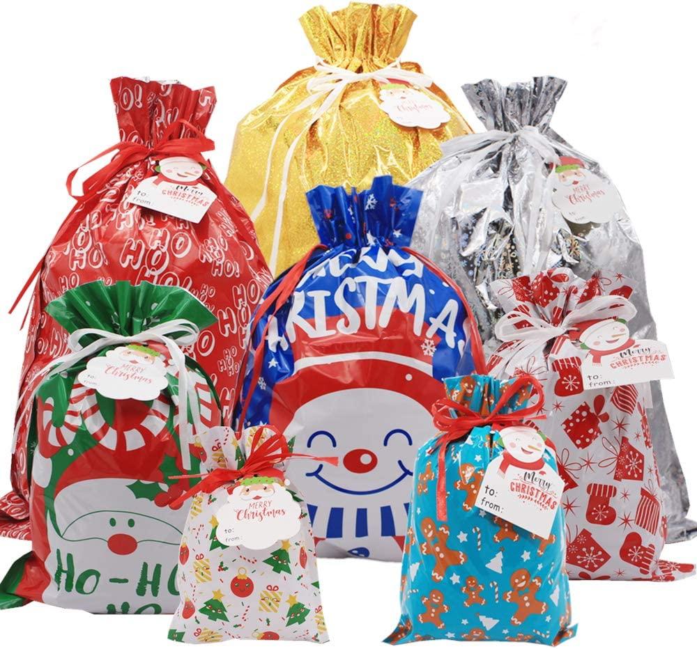iLovepaper 36PCS Drawstring Christmas Bags