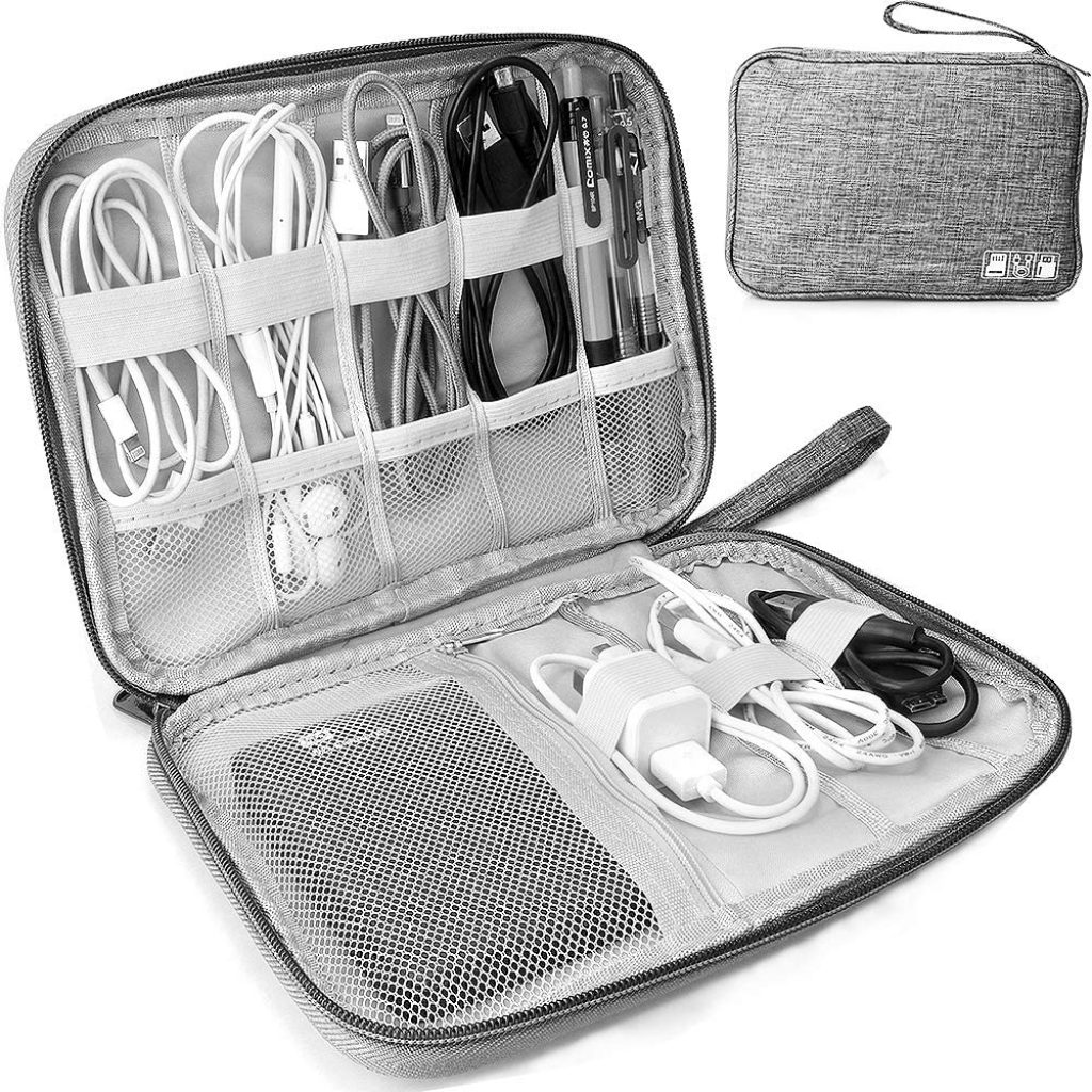 Organizer Bag For Electronics Accessories