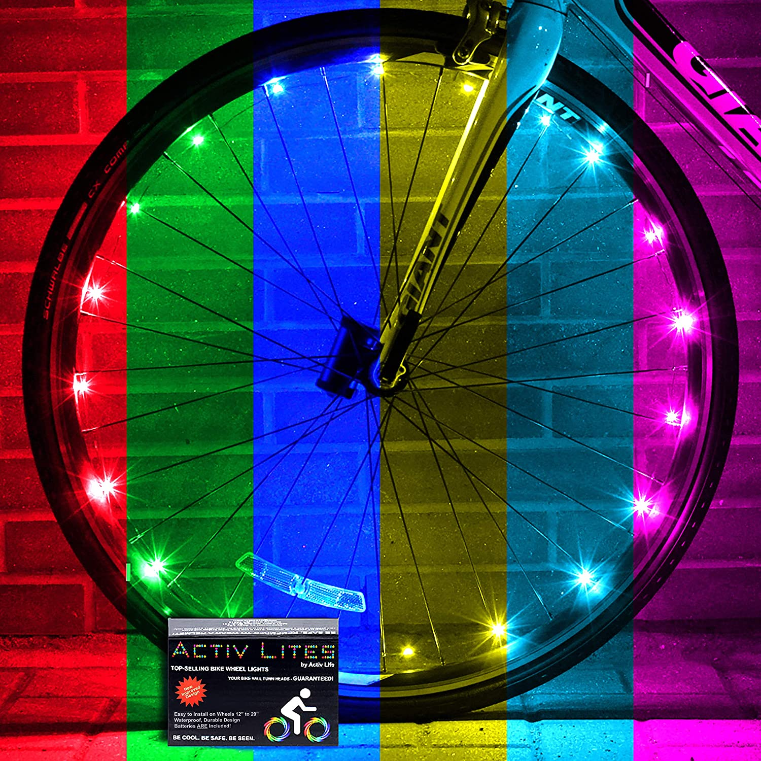 Pack Of Led Bike Wheels