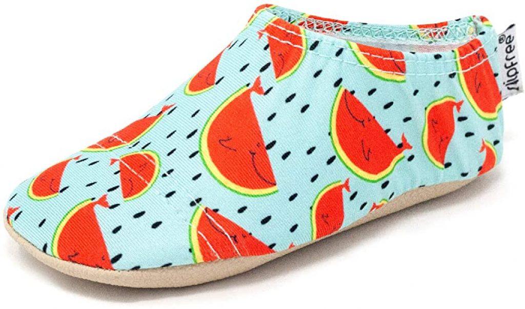 Slipfree Girls Barefoot Watermelon