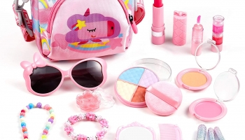 Perfect Christmas Gift! Auney Washable Make Up Kit for Girls