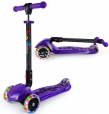 BELEEV Folding 3 Wheel Kick Scooter for Kids
