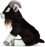 Brown Goat Plush Soft Toy by Living Nature