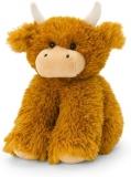 Cuddly Shaggy Highland Cow Soft Toy by Keel Toys.