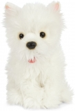 Cuddly West Highland Terrier Dog Toy by Living Nature