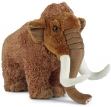 Extra Large Woolly Mammoth Soft Toy by Living Nature