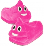 Funny Novelty Emojis Poo Slippers Soft Gift Toy Present for Girls