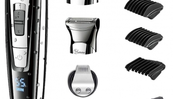 HATTEKER Hair Clipper Beard Trimmer Kit