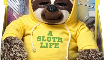 John Adams Snax The Sloth.