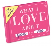 Knock Knock What I Love about You Fill in the Love Journal Diary