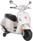 HOMCOM Kids Ride On Motorcycle Vespa for Boys Girls