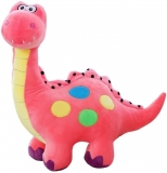 Pink Plush Dinosaur Stuffed Animal