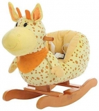 Plush Rocking Horse Wooden Soft Toy by Labebe