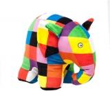 Rainbow Designs Elephant Large Soft Toy by Elmer