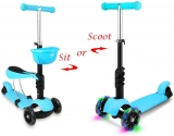 STOTOY Micro Scooter with Removable Seat