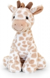 Soft Toy Snuggle Giraffe Natural by Keel Toys